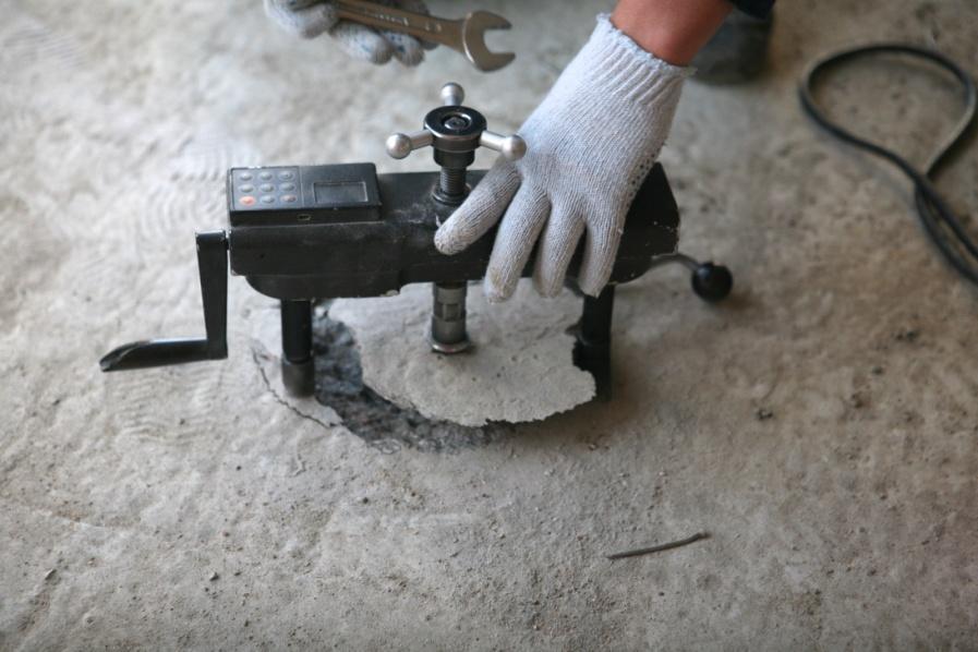 Испытание бетона отрыв со скалыванием